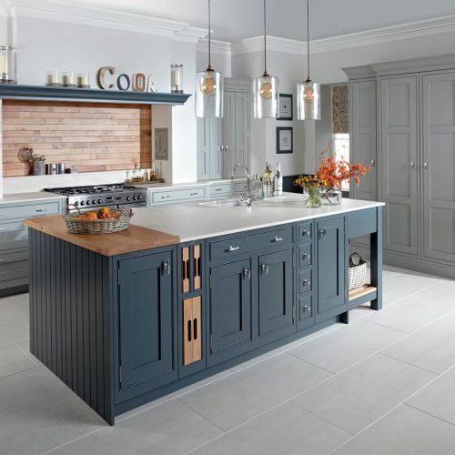 Katrine Elgin Grey & Caithness Slate Caledonia Traditional Shaker Style Kitchen